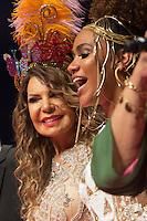 SÃO PAULO - SP. 15.02.2017 - SHOW-SP.  Elba Ramalho e Mariene de Castro durante Show de Verão da Mangueira, nesta quarta-feira, 15, no Tom Brasil, zona sul de São Paulo. (Foto: Ciça Neder / Brazil Photo Press)