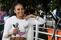 SÃO PAULO,SP, 31.01.2016 - CARNAVAL-SP - Alinne Rosa cantora no bloco Chá da Alice no bairro de Pinheiros região oeste de São Paulo, neste domingo, 31. (Foto: Marcos Moraes/Brazil Photo Press/Folhapress)