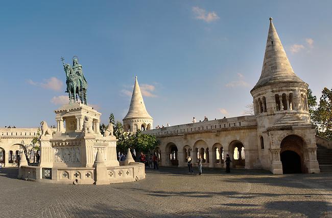 Fisherman's, gate, bastion, Bastion, Budapest, Hungary
