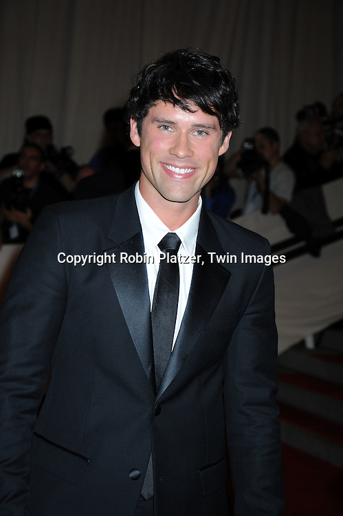 Ben Hollingsworth arriving at The Costume Institute Gala Benefit celebrating American Woman: Fashioning a National Identity at The Metropolitan Museum of Art on May 3, 2010 in New York City.