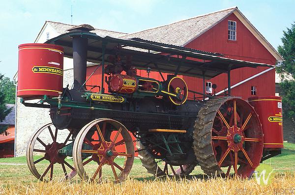 Minneapolis Steam tractor, Kutztown Folk Festival