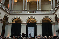 Hungarian Prime Minister Viktor Orban delivers his speech during the opening ceremony of the recently renovated Museum of Fine Arts in downtown Budapest, Hungary on Oct. 30, 2018. ATTILA VOLGYI
