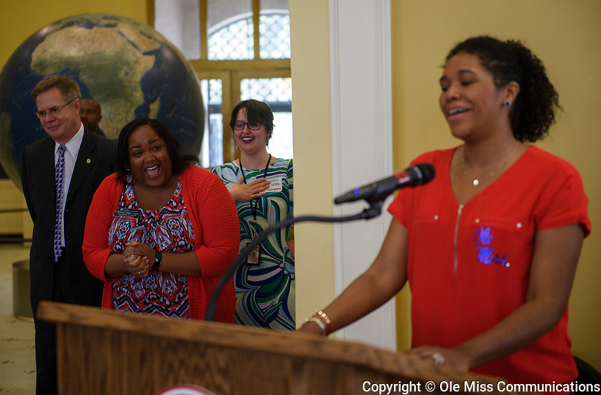 2017 Luckyday Senior Reception. Photo by Thomas Graning/Ole Miss Communications