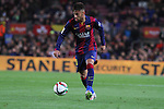 11.02.2015 Barcelona, Spain. Spanish Cup , Semi-final. Picture show Neymar in Action during game between FC Barcelona against Villareal at Camp Nou