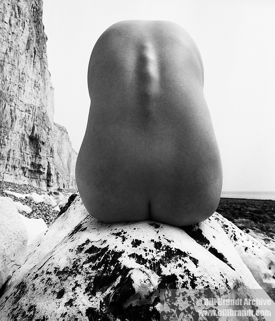 Nude, East Sussex Coast, 1977 July