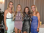Roisin Kavanagh, Jenny Mulroy, Orla Brennan and Catherine McGlew at St. Fechins GFC 75th anniversary dinner in the Westcourt Hotel. Photo:Colin Bell/pressphotos.ie