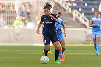Bridgeview, IL, USA - Sunday, May 29, 2016: Chicago Red Stars forward Sofia Huerta (11) during a regular season National Women's Soccer League match between the Chicago Red Stars and Sky Blue FC at Toyota Park. The game ended in a 1-1 tie.