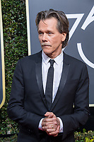Nominated for BEST PERFORMANCE BY AN ACTOR IN A TELEVISION SERIES &ndash; COMEDY OR MUSICAL for his role in &quot;I Love Dick,&quot; actor Kevin Bacon attends the 75th Annual Golden Globes Awards at the Beverly Hilton in Beverly Hills, CA on Sunday, January 7, 2018.<br /> *Editorial Use Only*<br /> CAP/PLF/HFPA<br /> &copy;HFPA/PLF/Capital Pictures