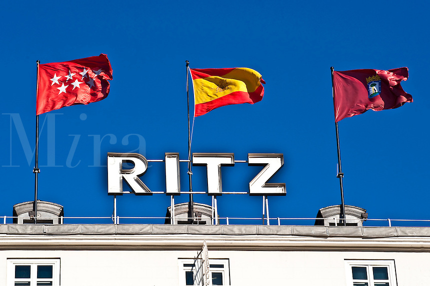 Ritz Hotel, Madrid, Spain