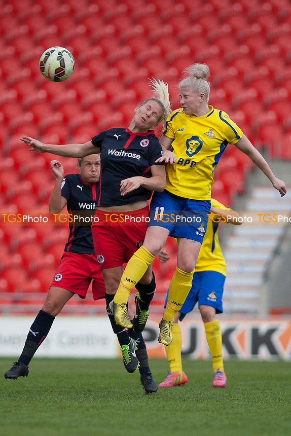 Bethany England (Doncaster Belles)<br />   - Doncaster Rovers Belles vs Reading Women - FA Womens Super League 2 Football at the Keepmoat Stadium, Doncaster Rovers FC - 16/05/15 - MANDATORY CREDIT: Mark Hodsman/TGSPHOTO - Self billing applies where appropriate - contact@tgsphoto.co.uk - NO UNPAID USE