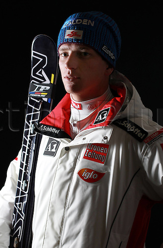 16.10.2010  Winter sports OSV Einkleidung Innsbruck Austria. Ski Alpine OSV Austrian Ski Federation. Picture shows Florian Scheiber AUT