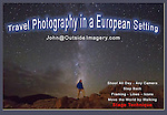 These European photos are an introduction to John Kieffer&rsquo;s 30 years as a professional photographer, teacher and writer based in Boulder, Colorado, USA. <br />