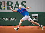John Isner (USA) wins the first set tiebreaker against Tommy Robredo (ESP), 15-13