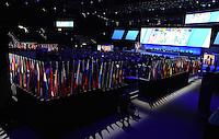 Fussball International Ausserordentlicher FIFA Kongress 2016 im Hallenstadion in Zuerich 26.02.2016 Uebersicht des Hallenstadion