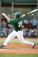 February 22, 2009:  Outfielder Eli Boike (16) of Michigan State University during the Big East-Big Ten Challenge at Naimoli Complex in St. Petersburg, FL.  Photo by:  Mike Janes/Four Seam Images
