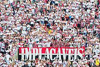 SÃO PAULO,SP,14.04.2019 - SÃO PAULO FC - CORINTHIANS -  torcedores do São Paulo durante partida entre a equipe do Corinthians, jogo válido pela final do Campeonato Paulista 2019, jogo de Ida, disputada no estádio do Morumbi, na região sul da cidade de São Paulo, na tarde deste domingo, 14. (Foto: Dorival Rosa/Brazil Photo Press/Folhapress)