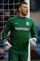 Preston North End goalkeeper, Chris Maxwell during Millwall vs Preston North End, Sky Bet EFL Championship Football at The Den on 13th January 2018