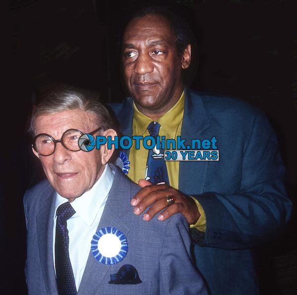 #GeorgeBurns #BillCosby 1991<br /> Photo By Adam Scull/PHOTOlink.net