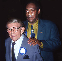 #GeorgeBurns #BillCosby 1991<br /> Photo By Adam Scull/PHOTOlink.net