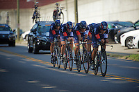 IAM cycling Team (SUI) on course<br /> <br /> Elite Men's Team Time Trial<br /> UCI Road World Championships Richmond 2015 / USA