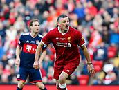 24th March 2018, Anfield, Liverpool, England; LFC Foundation Legends Charity Match 2018, Liverpool Legends versus FC Bayern Legends; John Aldridge of Liverpool Legends