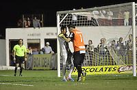 MOGI MIRIM, SP, 04 de MAIO 2013 - nNeymar comemora gol em penaltes durante a Semifinal Mogi Mirim x Santos no Estadio Romildo Vitor Gomes Ferreira (Romildao) em Mogi Mirim  (FOTO: ADRIANO LIMA / BRAZIL PHOTO PRESS).