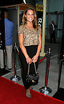 """HOLLYWOOD, CA. - September 03: Amy Morris arrives at the Los Angeles premiere of """"Sorority Row"""" at the ArcLight Hollywood theater on September 3, 2009 in Hollywood, California."""