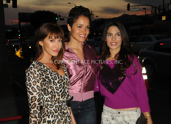 WWW.ACEPIXS.COM . . . . .  ....September 13 2011, New york City....(L-R) Fernanda Romero, Susie Castillo and Nadine Velazquez arriving at the FX Premiere for 'It's Always Sunny In Philadelphia' and 'The League' at ArcLight Cinemas Cinerama Dome on September 13, 2011 in Hollywood, California.....Please byline: PETER WEST - ACE PICTURES.... *** ***..Ace Pictures, Inc:  ..Philip Vaughan (212) 243-8787 or (646) 679 0430..e-mail: info@acepixs.com..web: http://www.acepixs.com
