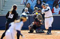 13 February 2010:  FIU's Jenny Welch (10) hits a home run as the FIU Golden Panthers defeated the Southern Illinois Salukis, 10-6, at the University Park Stadium in Miami, Florida.