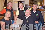 Pat Gill, president Darby O'Gills Golf Society, pictured presenting the proceeds of their recent camel race night to Annamaria Gallivan, Make A Wish Foundation at Darby O'Gills Hotel on Wednesday night. Also pictured are John Cuskelly, Peter Wickham and Donal Kelly...