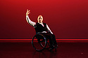 London, UK. 09.05.2018. Step Change Studios present their ballroom show Fusion, at Sadler's Wells' Lilian Baylis Studio. Fusion is the UK's first inclusive Latin and ballroom dance showcase by disabled and non-disabled artists, drawing on different dance influences such as swing and contemporary to develop original pieces inspired by Latin and ballroom. Picture shows: TANGO SOLO, created and performed by Pawel Karpinski. Photograph © Jane Hobson.
