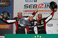 #31 Whelen Engineering Racing Cadillac DPi, DPi: Felipe Nasr, Pipo Derani, Eric Curran, podium