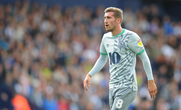 Blackburn Rovers' Joe Rothwell<br /> <br /> Photographer Kevin Barnes/CameraSport<br /> <br /> The EFL Sky Bet Championship - West Bromwich Albion v Blackburn Rovers - Saturday 31st August 2019 - The Hawthorns - West Bromwich<br /> <br /> World Copyright © 2019 CameraSport. All rights reserved. 43 Linden Ave. Countesthorpe. Leicester. England. LE8 5PG - Tel: +44 (0) 116 277 4147 - admin@camerasport.com - www.camerasport.com