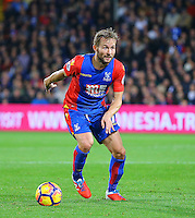 Yohan Cabaye of Crystal Palace during the EPL - Premier League match between Crystal Palace and Liverpool at Selhurst Park, London, England on 29 October 2016. Photo by Steve McCarthy.