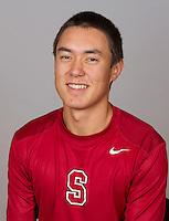 Brandon Sutter,  with the Stanford Men's Tennis Team. Photo taken on Monday, September 23, 2013.