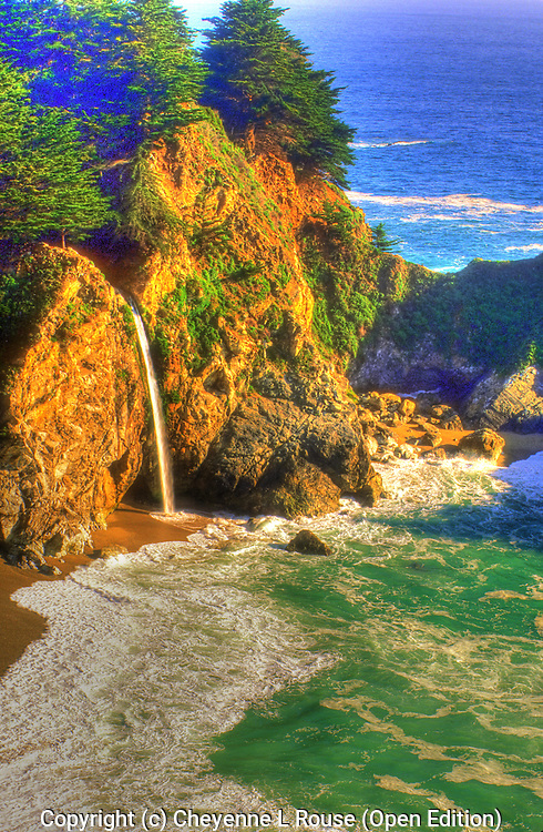 McWay Falls - Big Sur - California (Open Edition)
