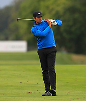 Julian Suri (USA) on the 5th fairway during Round 3 of the D+D Real Czech Masters at the Albatross Golf Resort, Prague, Czech Rep. 02/09/2017<br /> Picture: Golffile | Thos Caffrey<br /> <br /> <br /> All photo usage must carry mandatory copyright credit     (&copy; Golffile | Thos Caffrey)