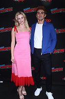 NEW YORK, NY - October 07: Lili Reinhart, KJ Apa, at the CW's Riverdale photo call at New York Comic Con 2018 at the Jacob K. Javits Convention Center in New York City on October 07, 2018 <br /> CAP/MPI/RW<br /> &copy;RW/MPI/Capital Pictures