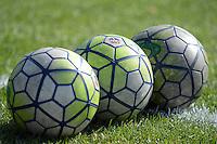 Kansas City, MO - Saturday July 16, 2016: Soccer balls prior to a regular season National Women's Soccer League (NWSL) match between FC Kansas City and the Washington Spirit at Swope Soccer Village.