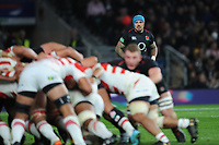 Jack Nowell of England looks on during the Quilter International match between England and Japan at Twickenham Stadium on Saturday 17th November 2018 (Photo by Rob Munro/Stewart Communications)