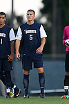 30 August 2013: Monmouth's Matt Jeffery. The University of North Carolina Tar Heels hosted the Monmouth University Hawks at Fetzer Field in Chapel Hill, NC in a 2013 NCAA Division I Men's Soccer match. UNC won the game 1-0 in two overtimes.
