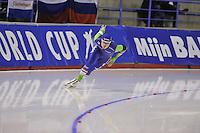 SPEEDSKATING: CALGARY: 15-11-2015, Olympic Oval, ISU World Cup, 500m, Kai Verbij (NED), ©foto Martin de Jong