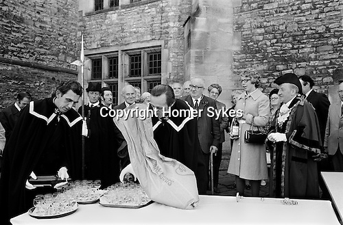 First Fruits Ceremony, Richmond, Yorkshire. England 1975.<br />
