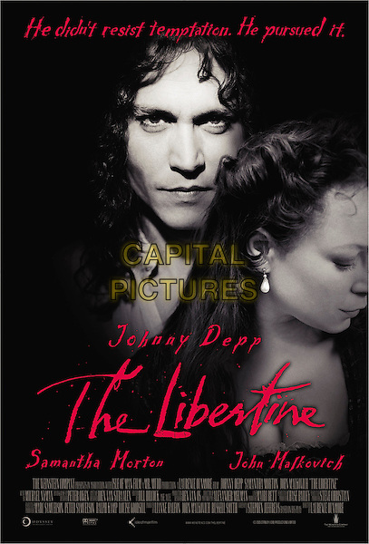 POSTER.in The Libertine.*Editorial Use Only*.www.capitalpictures.com.sales@capitalpictures.com.Supplied by Capital Pictures.