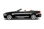 Car Driver side profile view of a 2015 BMW 6 Series 640i 2 Door Convertible Side View