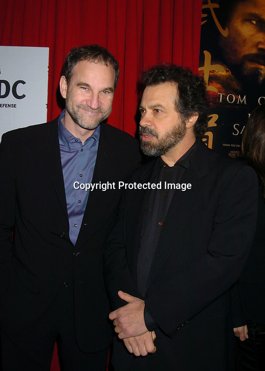 """Marshall Herskovitz and Ed Zwick ..at the New York Premiere of """" The Last Samurai""""  on December 2, 2003 at the Ziegfeld Theatre.                           Photo by Robin Platzer, Twin Images"""