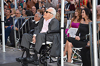 LOS ANGELES, CA. November 06, 2018: Kirk Douglas &amp; Catherine Zeta-Jones at the Hollywood Walk of Fame Star Ceremony honoring actor Michael Douglas.<br /> Pictures: Paul Smith/Featureflash