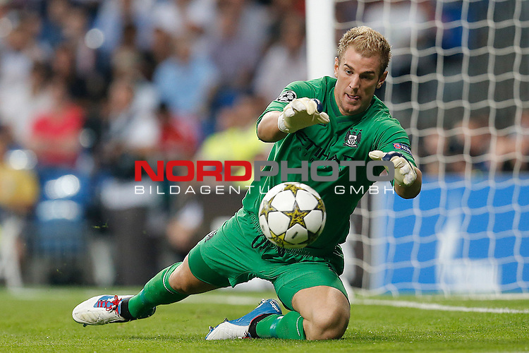 Manchester City's Joe Hart during Champions League match on september 18th 2012...Photo: Cesar Cebola  / Foto © nph *** Local Caption ***