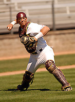 Boston College C Tont Sanchez at Shea Field April 17, 2009 in Chestnut Hill, MA (Photo by Ken Babbitt/Four Seam Images)