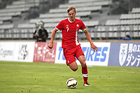 Kristopher Twardek of Millwall and Canada U21's in action during Japan Under-21 vs Canada Under-21, Tournoi Maurice Revello Football at Stade Parsemain on 3rd June 2018